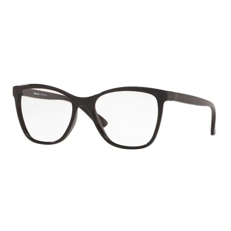 Óculos de Grau Feminino Tecnol TN3070 Preto Brilho