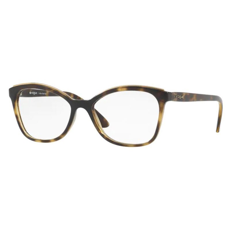 Óculos de Grau Feminino Vogue VO5160L Marrom Havana Brilho
