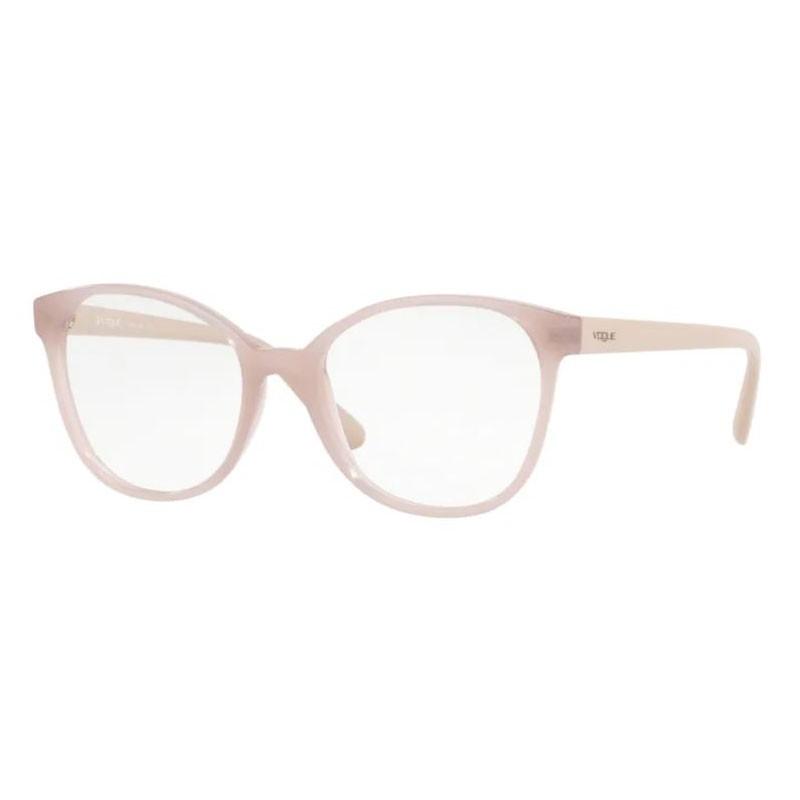 Óculos de Grau Feminino Vogue VO5234L Bege Brilho Tamanho 52