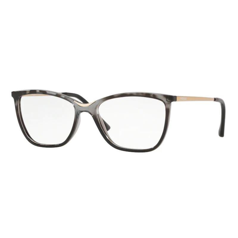 Óculos de Grau Feminino Vogue VO5264L Cinza Havana Brilho
