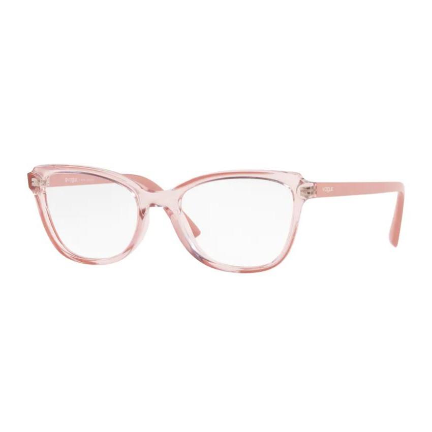Óculos de Grau Feminino Vogue VO5292L Rosa Transparente