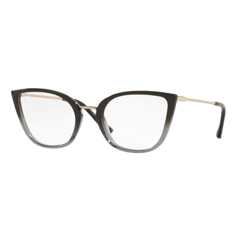 Óculos de Grau Feminino Vogue VO5299L Preto com Cinza Gatinho