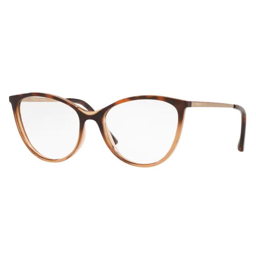 Óculos de Grau Feminino Vogue VO5320L Havana e Castanho