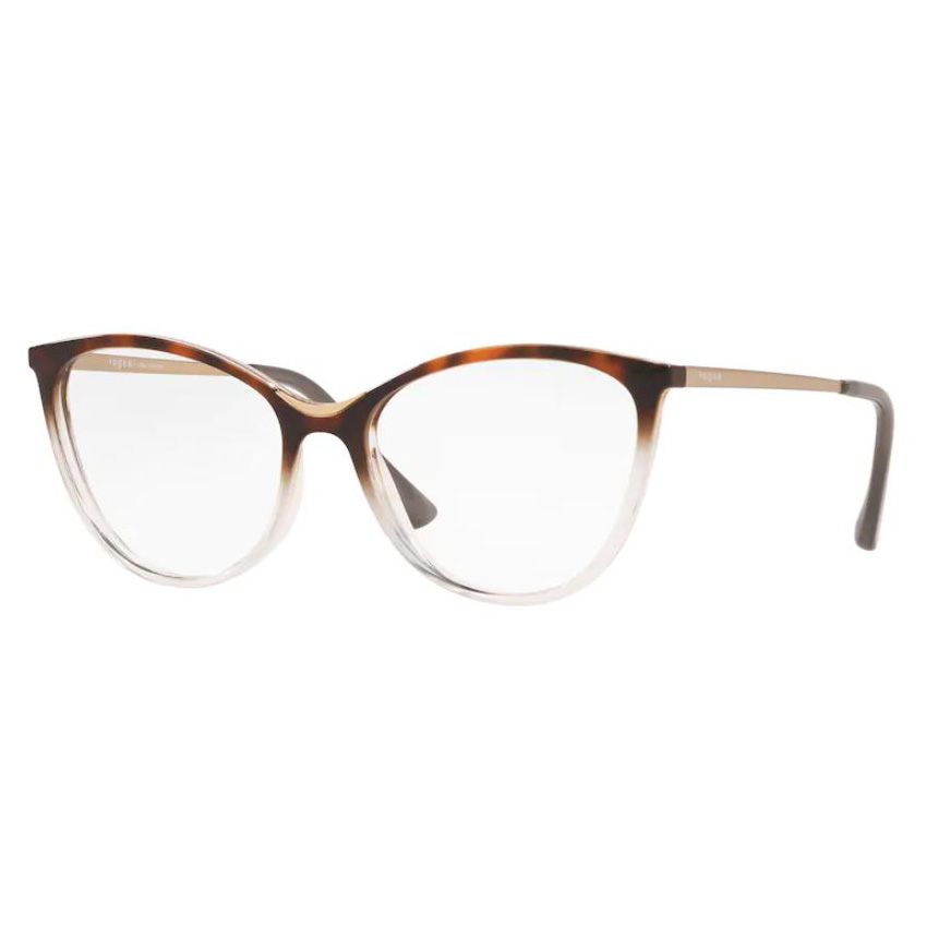 Óculos de Grau Feminino Vogue VO5320L Marrom com Transparente