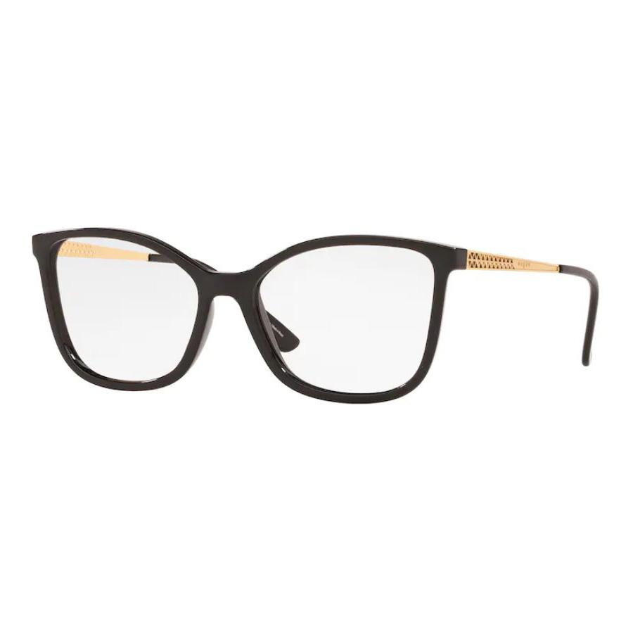 Óculos de Grau Feminino Vogue VO5334L Preto Brilho Quadrado