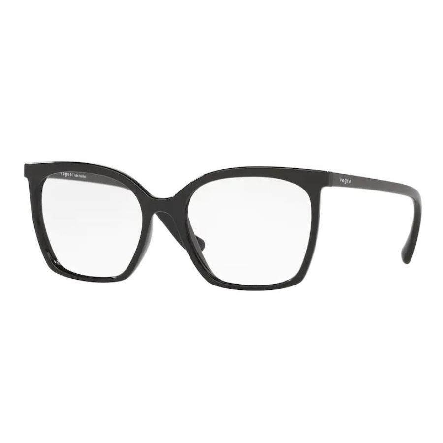 Óculos de Grau Feminino Vogue VO5340L Preto Brilho Quadrado
