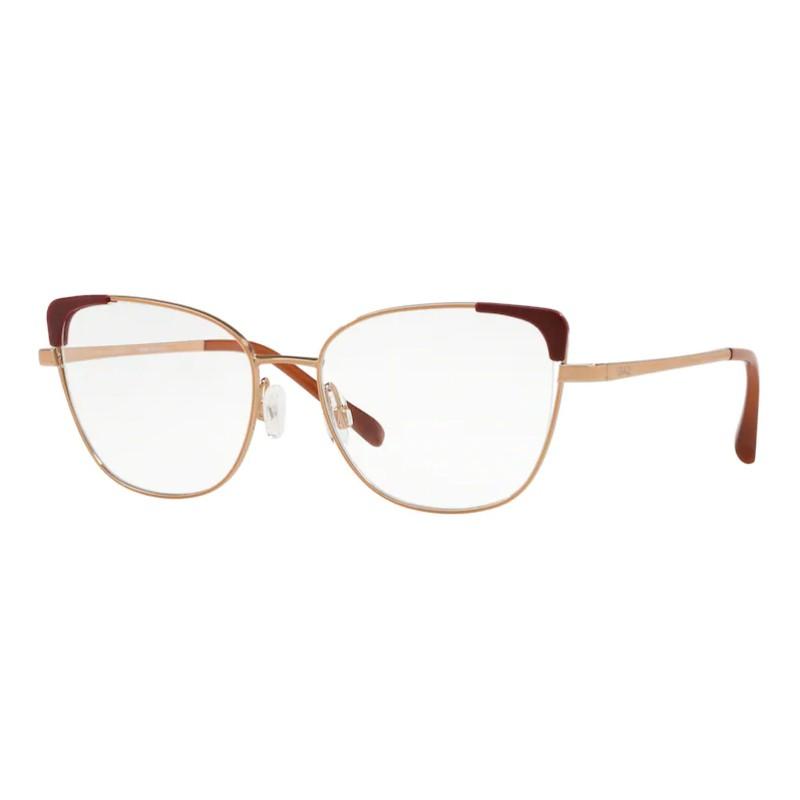 Óculos de Grau Grazi Gatinho GZ1013 F922 52 Rose e Bordô