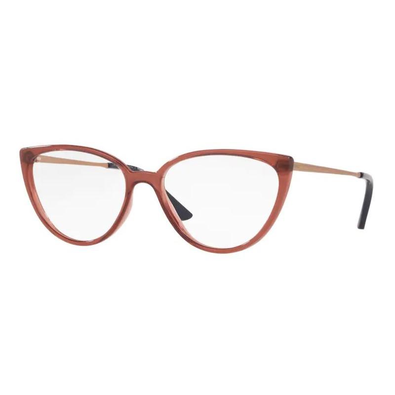 Óculos de Grau Grazi GZ3076 Marrom Avermelhado Translúcido
