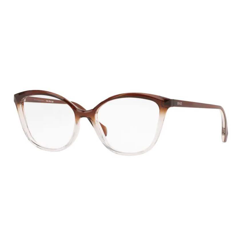 Óculos de Grau Grazi GZ3079 Marrom Degradê com Transparente