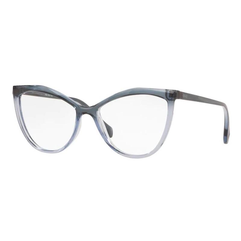 Óculos de Grau Grazi Massafera Gatinho GZ3078 Azul e Cinza Brilho