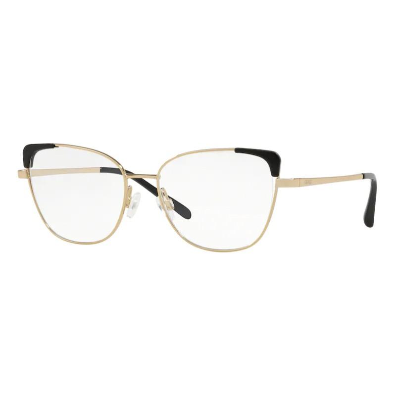 Óculos de Grau Grazi Massafera GZ1013 Metal Dourado e Preto