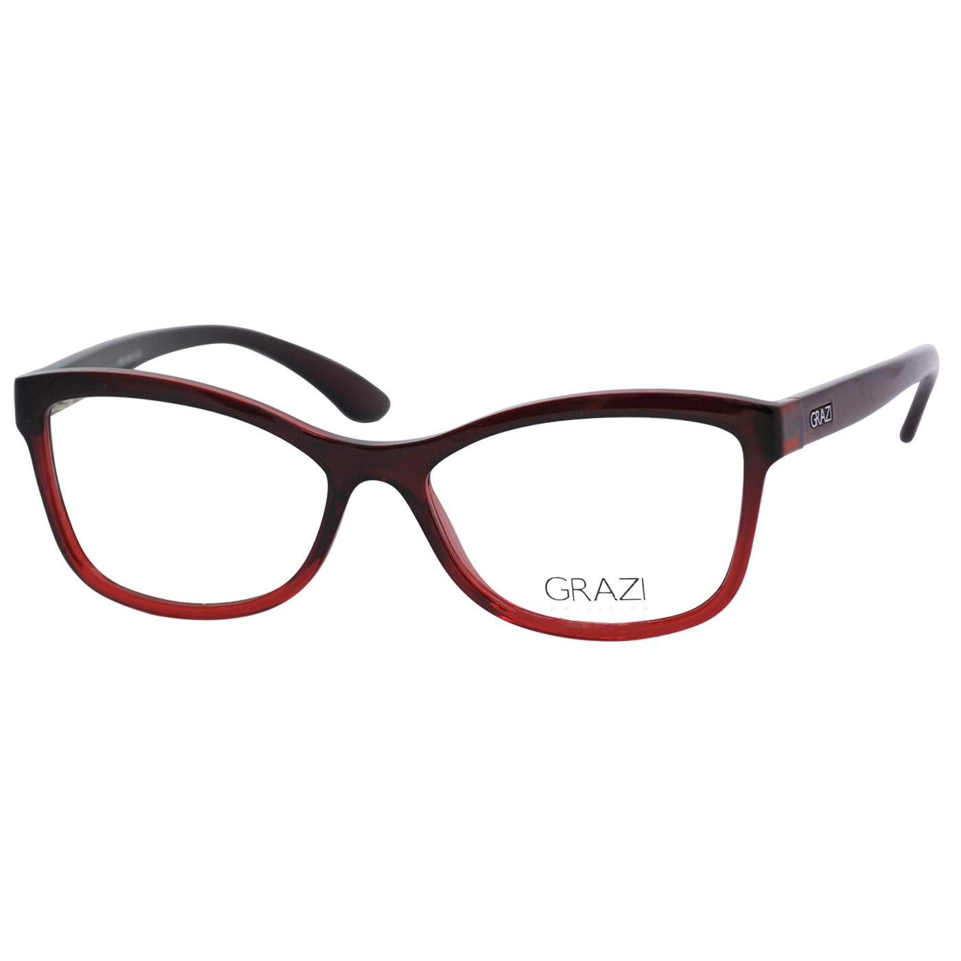 Óculos de Grau Grazi Massafera GZ3036 Vermelho Gradiente Brilho