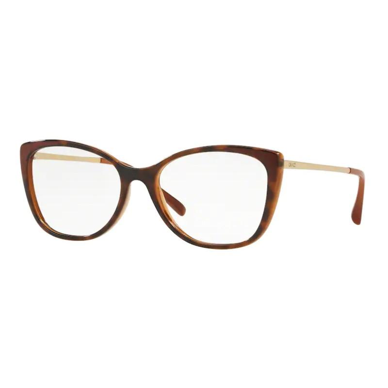 Óculos de Grau Grazi Massafera GZ3055 Marrom Havana e Dourado