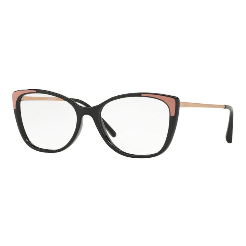 Óculos de Grau Grazi Massafera GZ3055 Preto com Rosa e Dourado