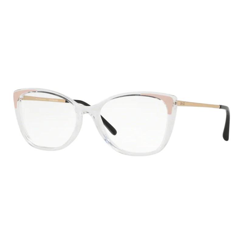 Óculos de Grau Grazi Massafera GZ3055 Transparente e Dourado