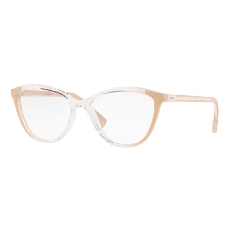 Óculos de Grau Grazi Massafera GZ3071 Transparente com Nude