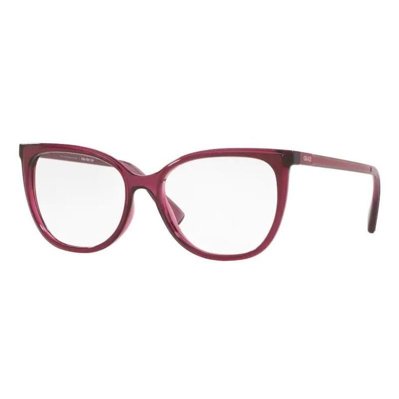 Óculos de Grau Grazi Massafera GZ3072 Bordô Brilho Tamanho 54