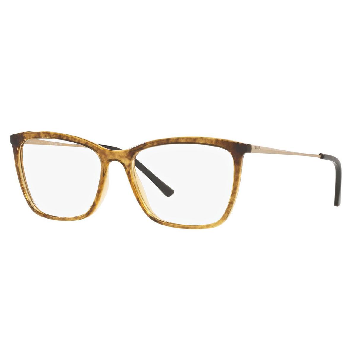 Óculos de Grau Grazi Massafera GZ3087 Marrom Caramelo Translúcido