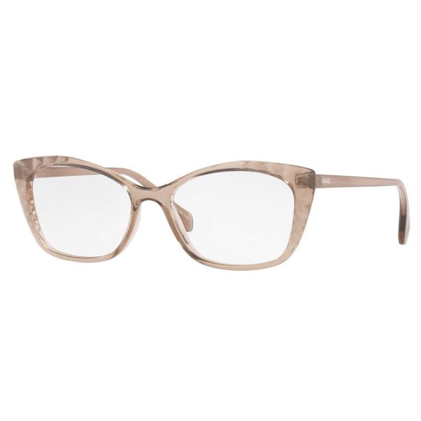 Óculos de Grau Grazi Massafera GZ3088 Marrom Translúcido