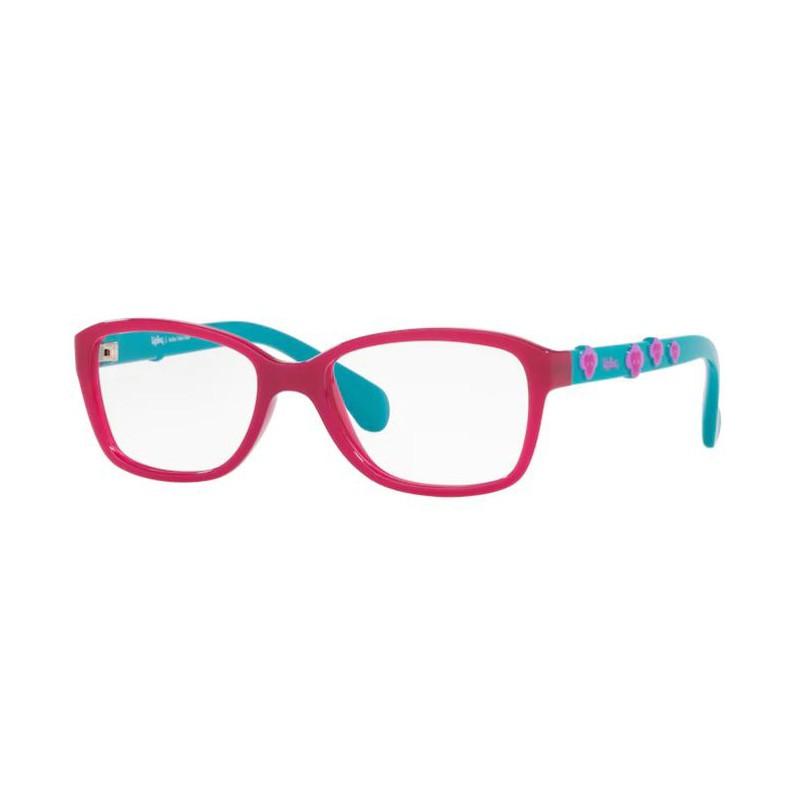 Óculos de Grau Infantil Kipling KP3116 Rosa Brilho com Verde