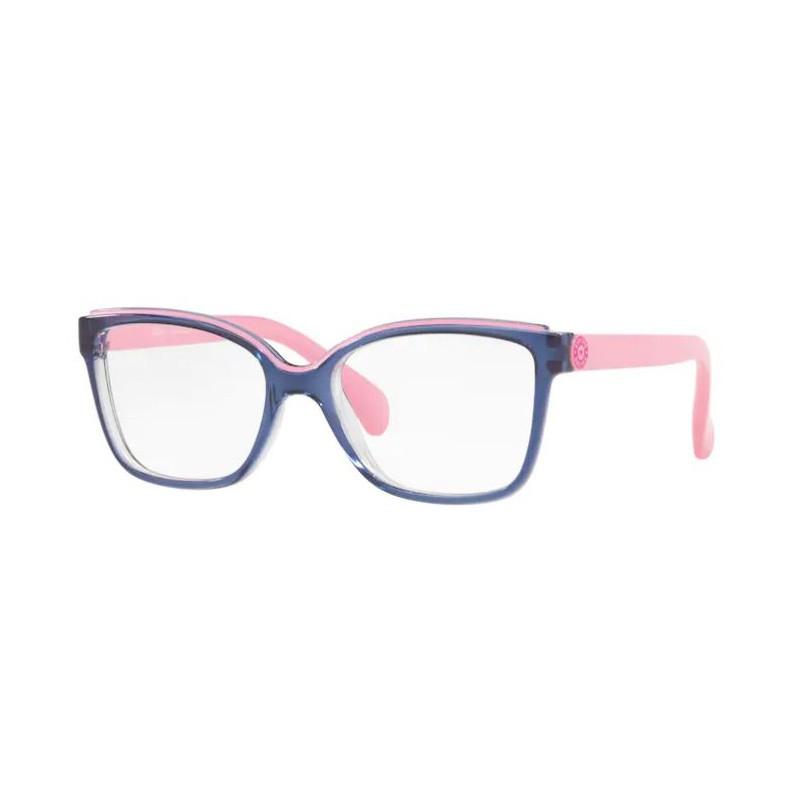 Óculos de Grau Infantil Kipling KP3124 Azul Brilho com Rosa