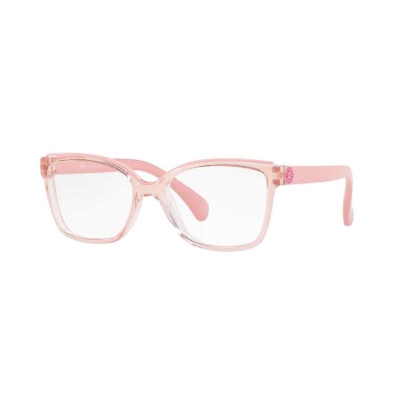 Óculos de Grau Infantil Kipling KP3124 Rosa Translúcido Tamanho 47