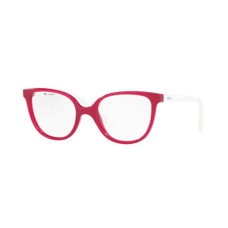 Óculos de Grau Infantil Kipling KP3129 Pink Brilho com Branco