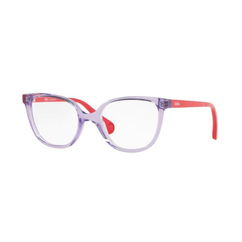 Óculos de Grau Infantil Kipling KP3129 Roxo Brilho com Vermelho