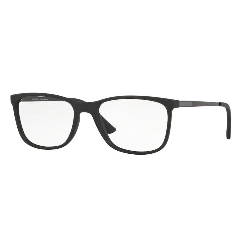 Óculos de Grau Jean Monnier J83179 Preto Fosco Tamanho 54