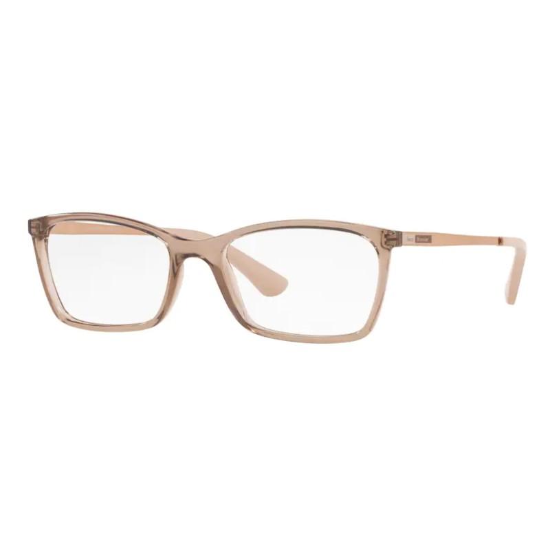 Óculos de Grau Jean Monnier J83193 Retangular Marrom Translúcido