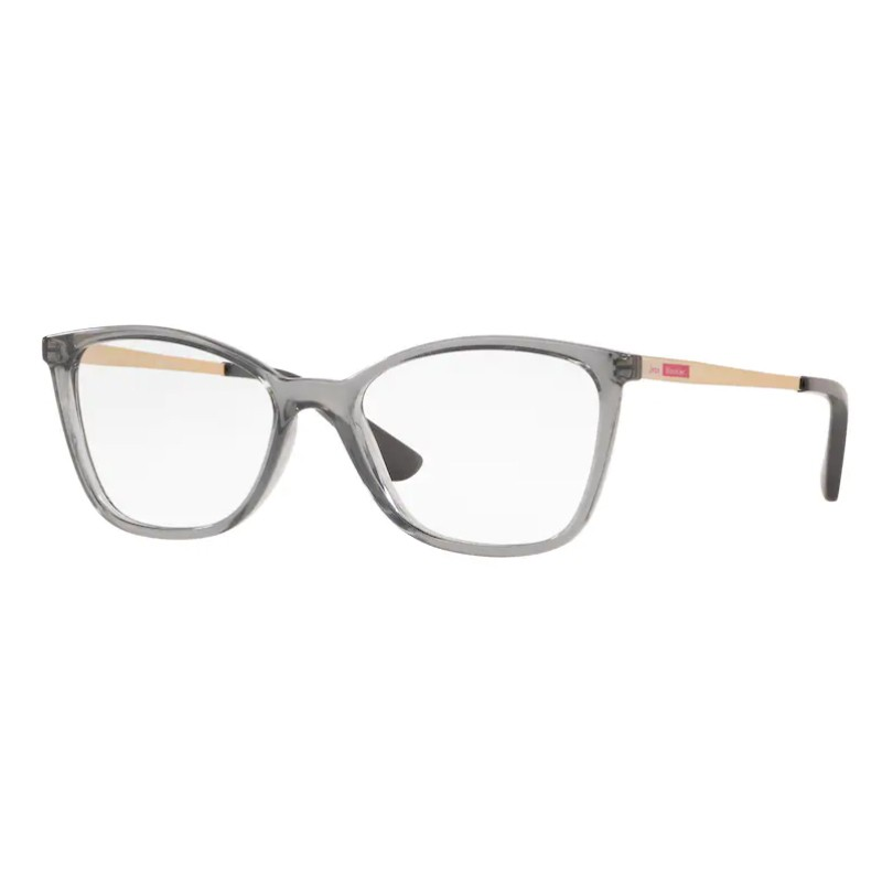 Óculos de Grau Jean Monnier J83194 Cinza Translúcido com Dourado