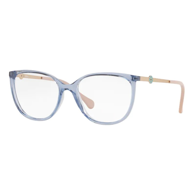 Óculos de Grau Kipling Feminino KP3125 Azul Translúcido