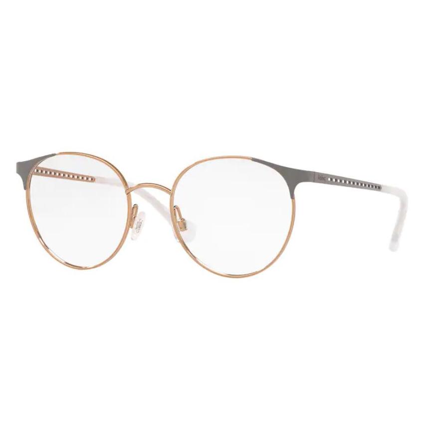 Óculos de Grau Kipling KP1112 Metal Rose com Cinza Redondo
