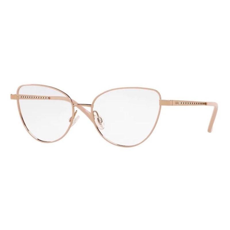 Óculos de Grau Kipling KP1113 Metal Dourado Rose Brilho