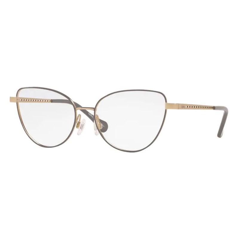 Óculos de Grau Kipling KP1113 Pequeno Metal Cinza Fosco e Dourado