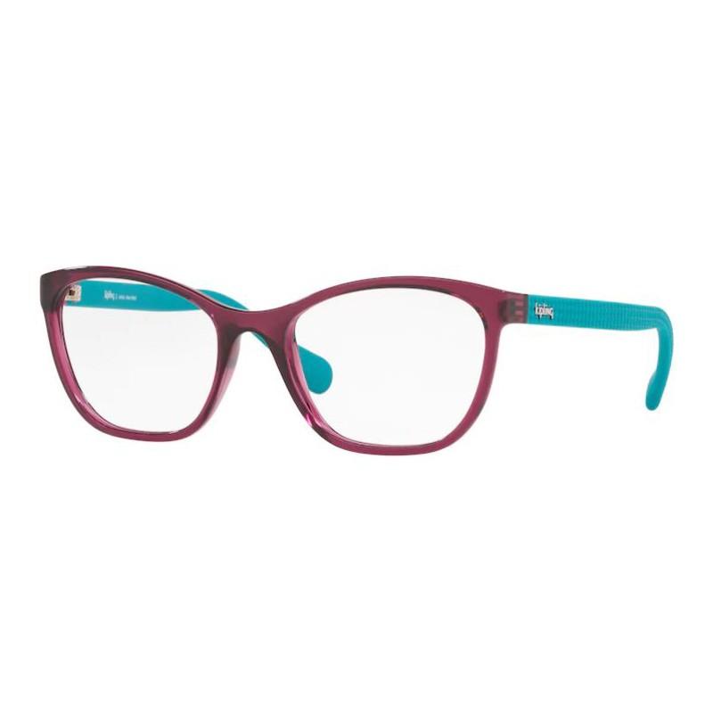 Óculos de Grau Kipling KP3103 Roxo Translúcido com Azul Turquesa