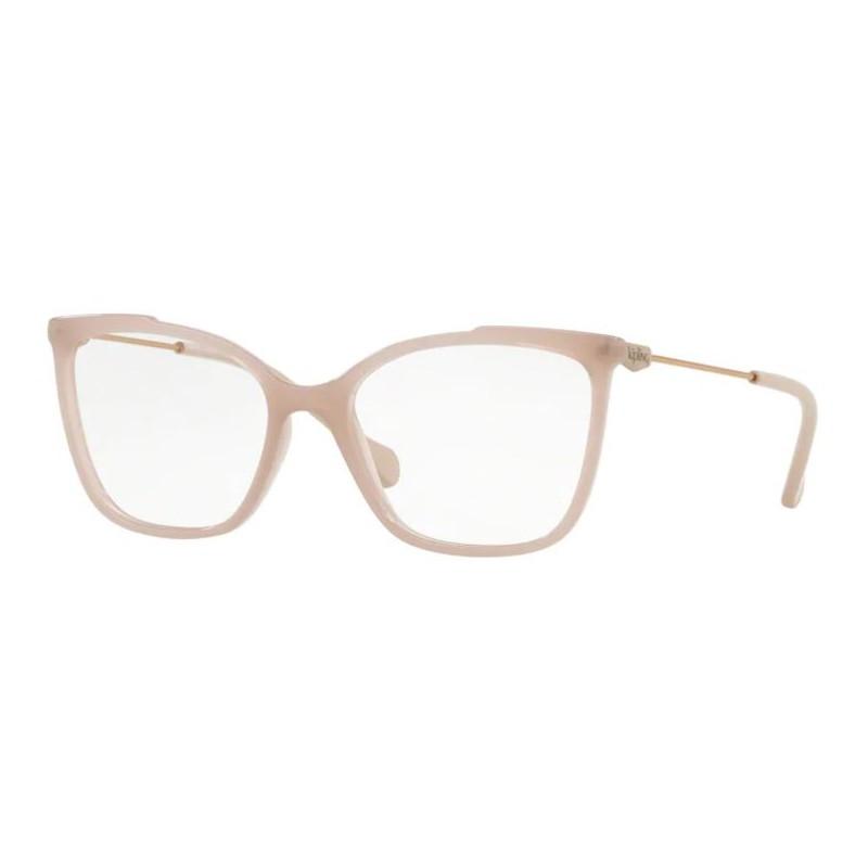 Óculos de Grau Kipling KP3112 Quadrado Nude Brilho Feminino