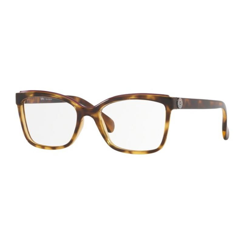 Óculos de Grau Kipling KP3118 Marrom Tartaruga Brilho Pequeno