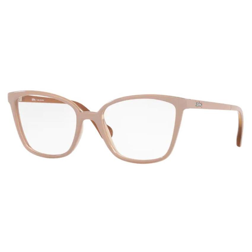 Óculos de Grau Kipling KP3130 Nude com Marrom Caramelo