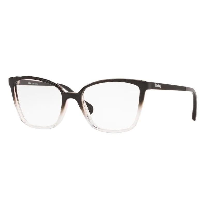 Óculos de Grau Kipling KP3130 Preto e Transparente Brilho