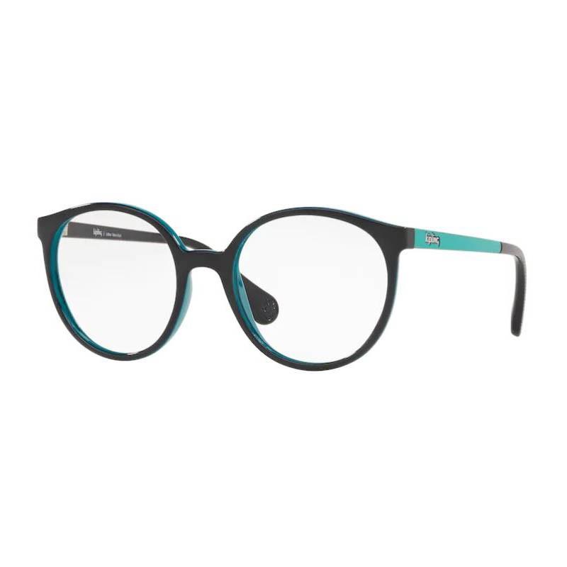 Óculos de Grau Kipling Pequeno KP3131 Redondo Azul e Turquesa