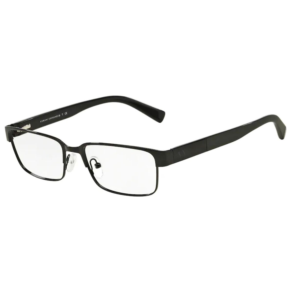 Óculos de Grau Masculino Armani Exchange AX1017L Preto Brilho