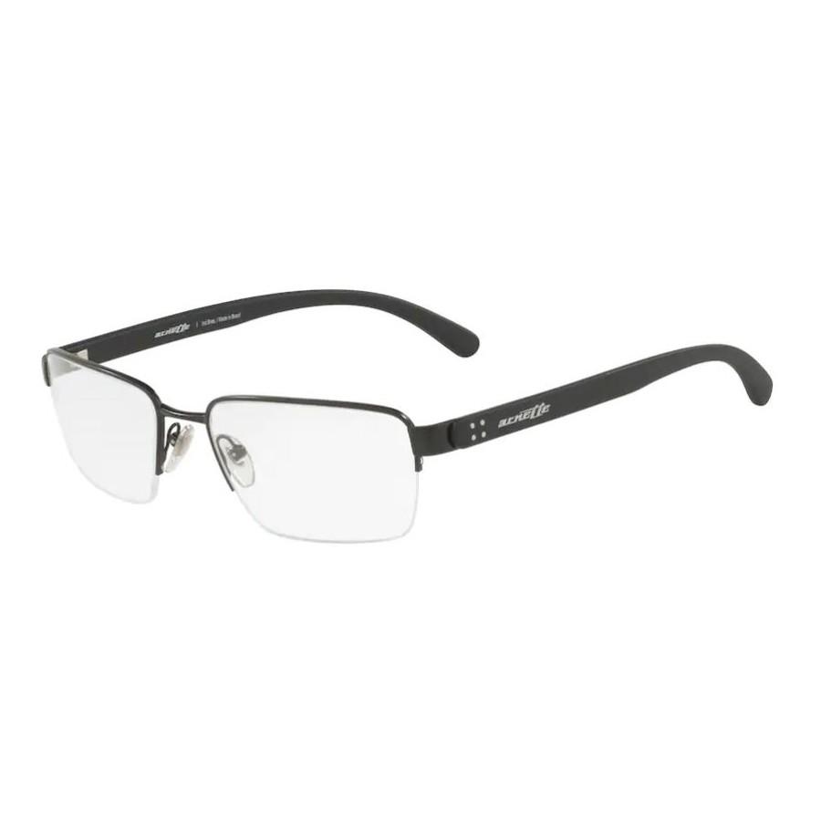 Óculos de Grau Masculino Arnette AN6117L Metal Preto Fosco