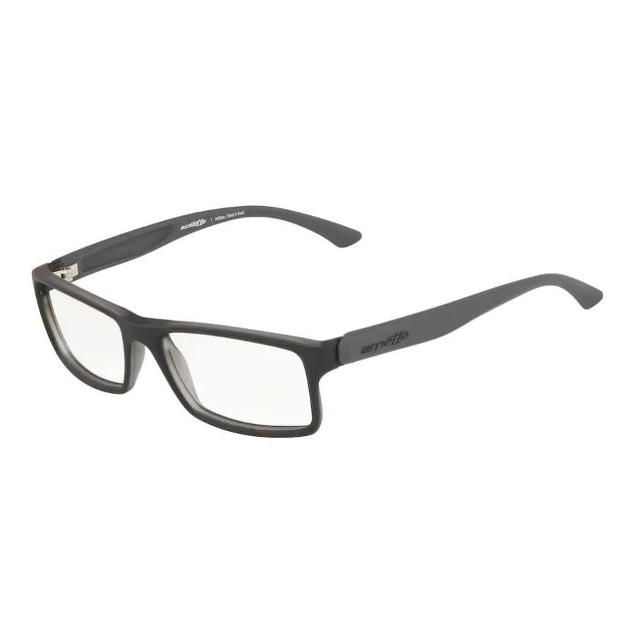 Óculos de Grau Masculino Arnette AN7070L Preto com Cinza Fosco