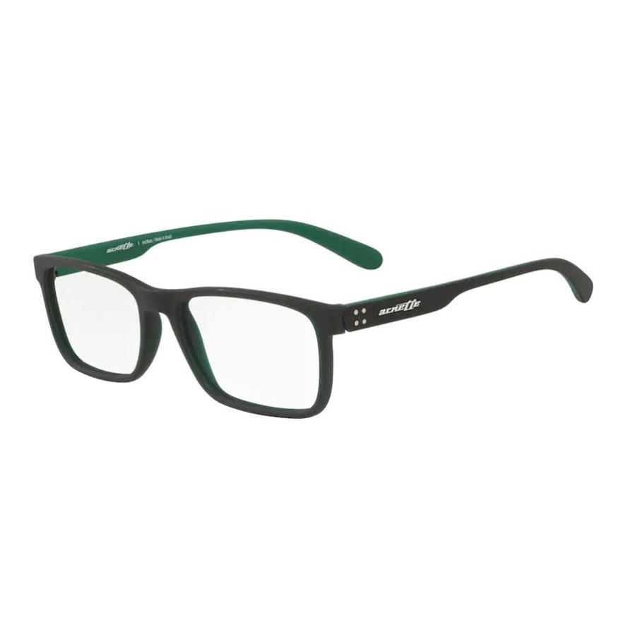 Óculos de Grau Masculino Arnette AN7141L Preto com Verde Fosco