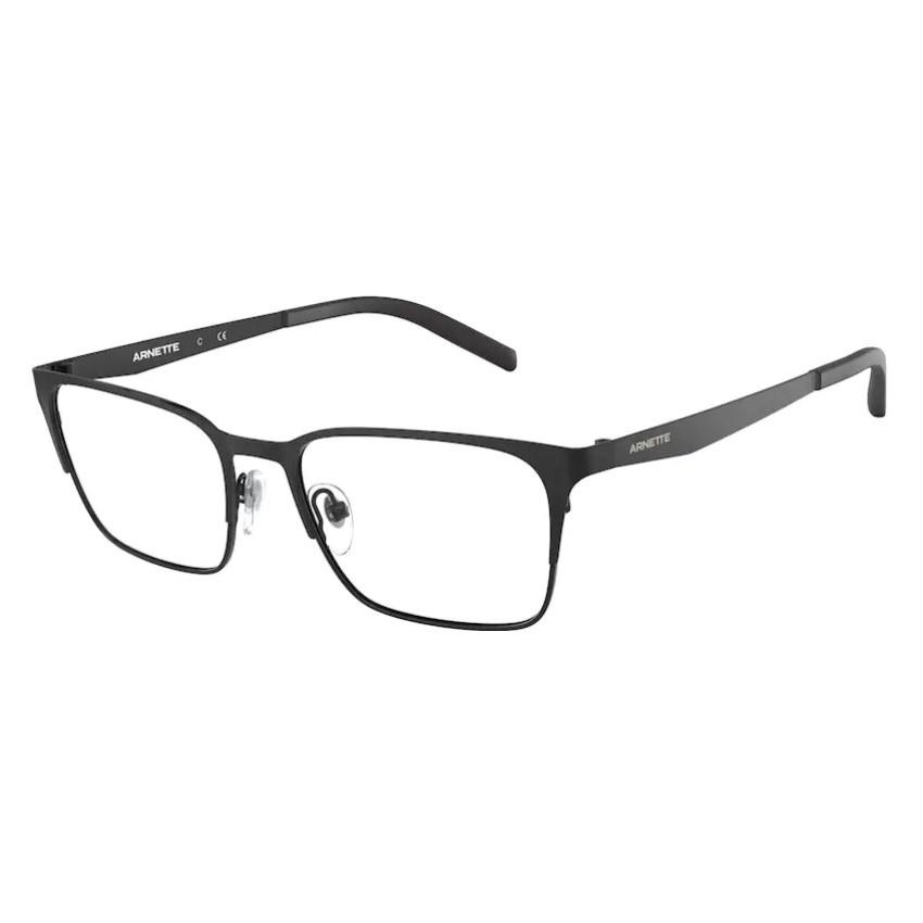 Óculos de Grau Masculino Arnette Fizz AN6124 Metal Preto Fosco