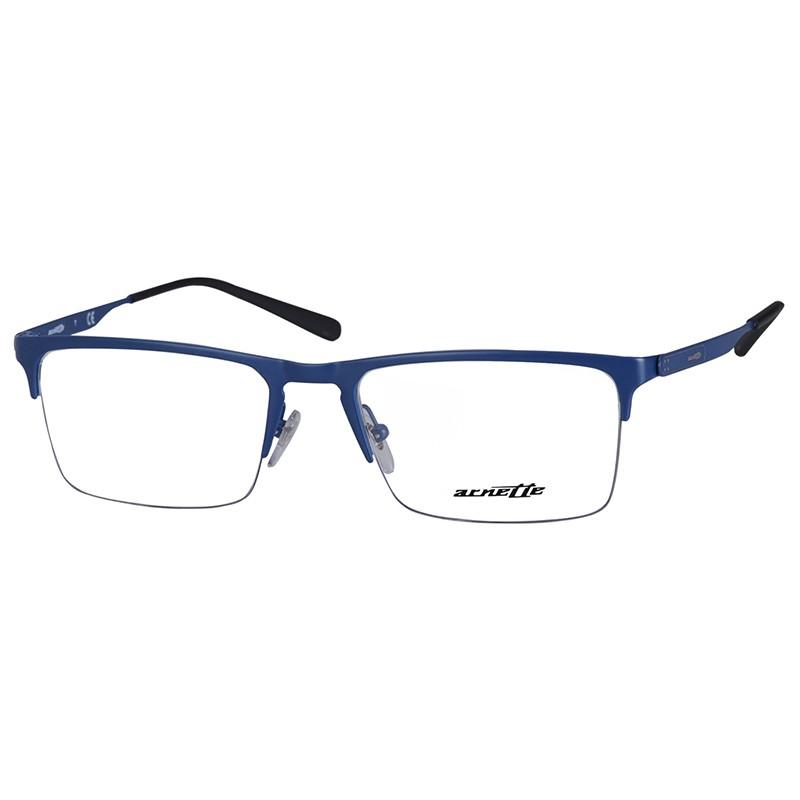 Óculos de Grau Masculino Arnette Tail AN6118 Azul Fosco Tamanho 54