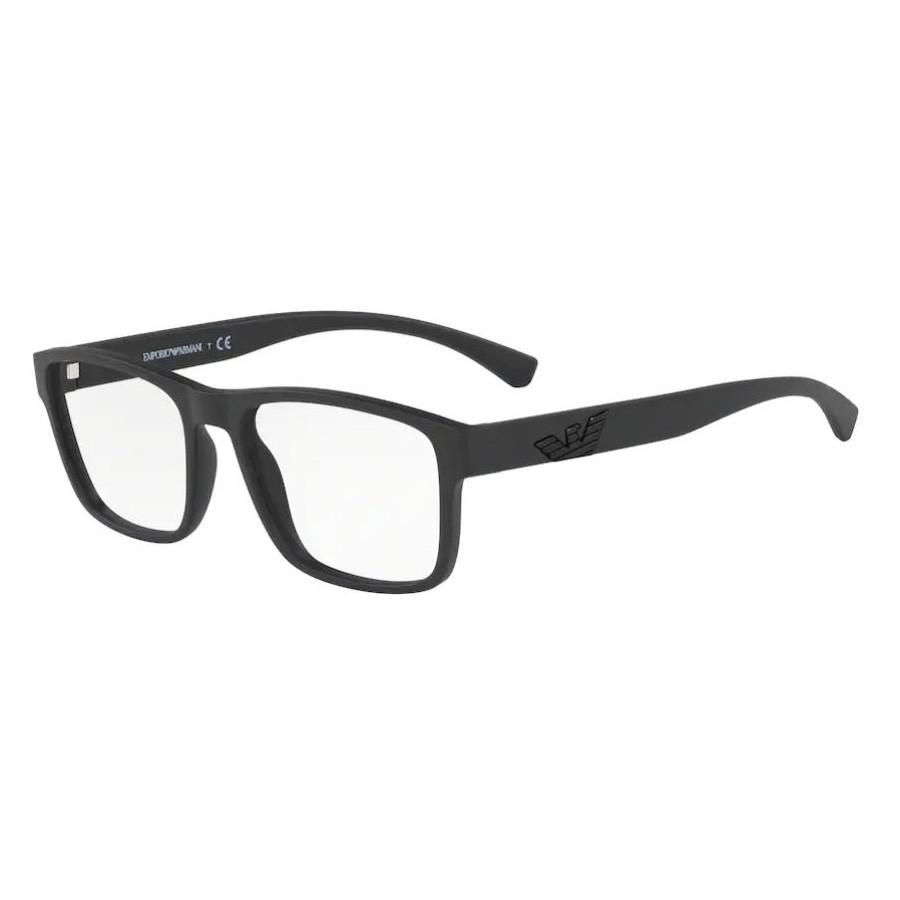 Óculos de Grau Masculino Empório Armani EA3149 Preto Fosco