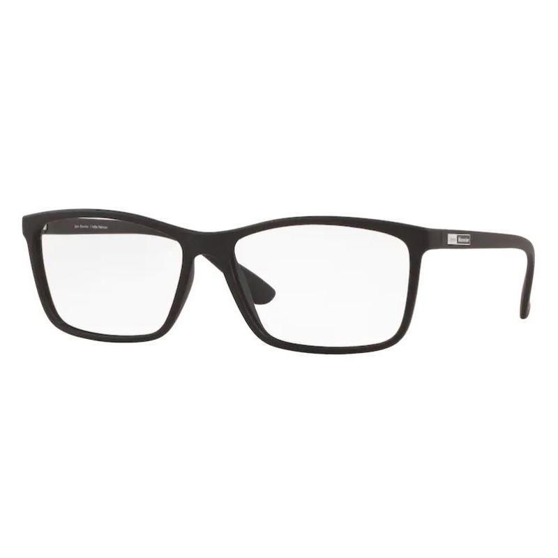 Óculos de Grau Masculino Jean Monnier J83197 Preto Fosco Grande