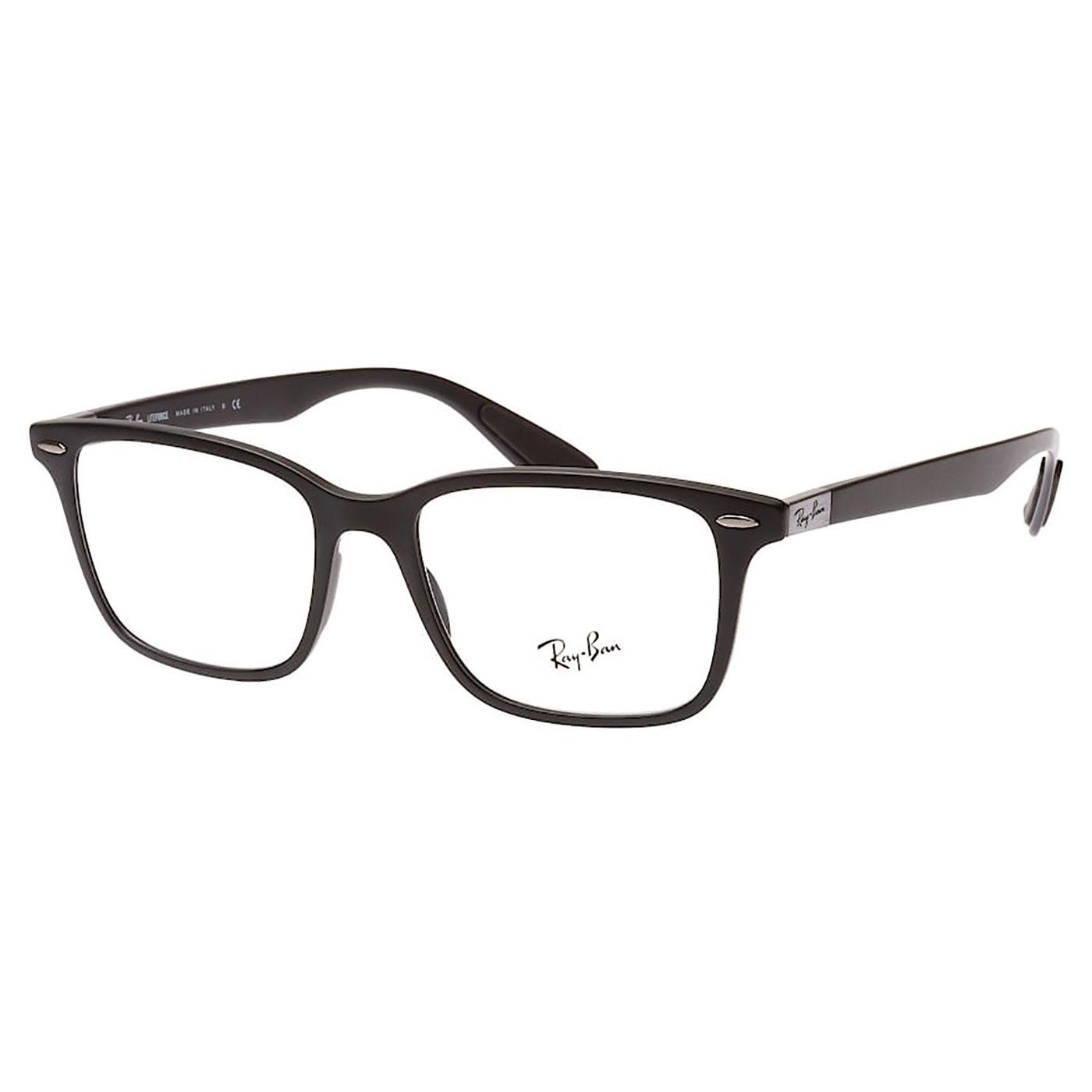 Óculos de Grau Masculino Liteforce RX7144 Preto Fosco Quadrado
